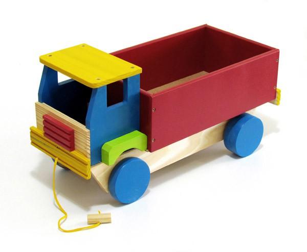 Caminhão de Madeira Caminhão Médio