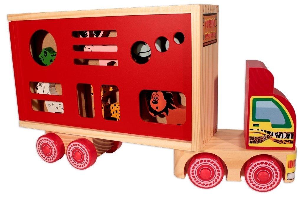 Caminhão de Madeira Caminhão Zootrans