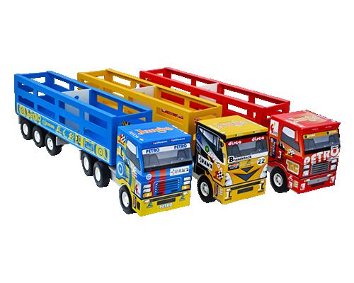 Caminhão de Madeira Scania Boiadeiro Cores sortidas
