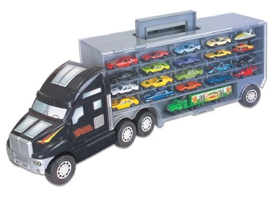 Caminhão Porta Carrinhos Super Carreta Braskit