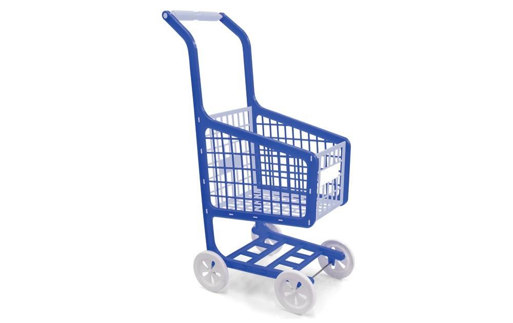 Carrinho de Supermercado Lev-Pag Elka Cores Sortidas
