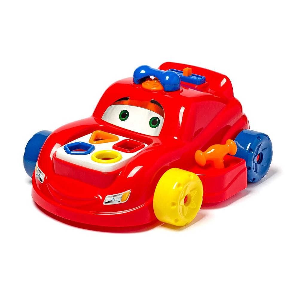 Carrinho Play Time Carro de Atividades Brinquedo Educativo