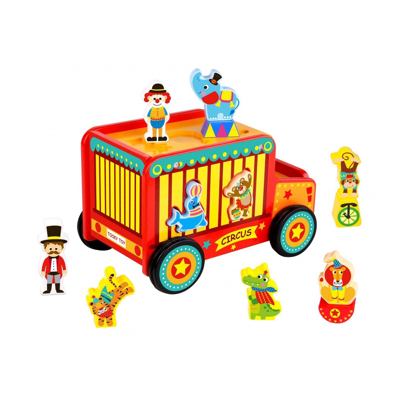 Carro de Madeira Jipe Circo