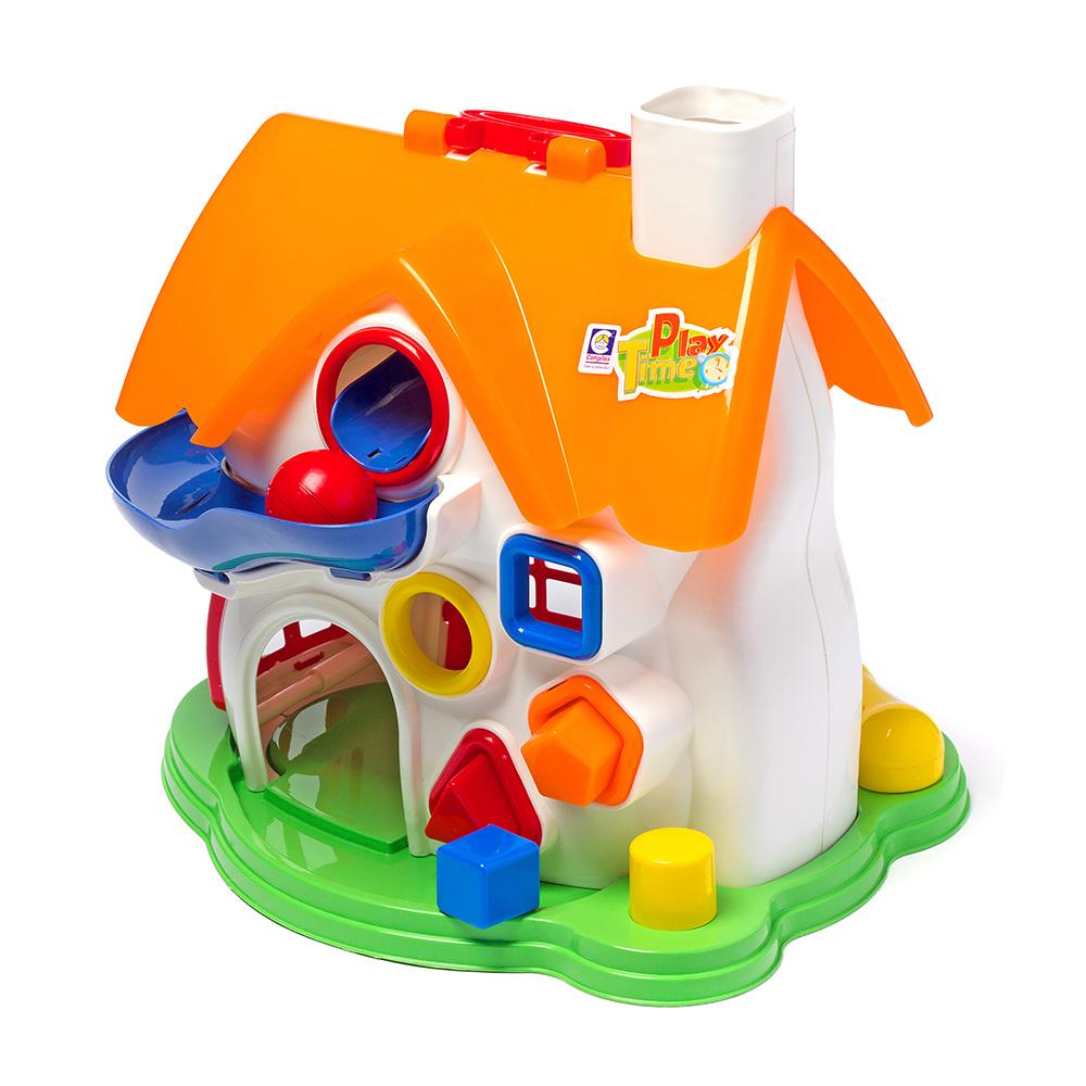 Casa com Atividade Play Time  Brinquedo Educativo