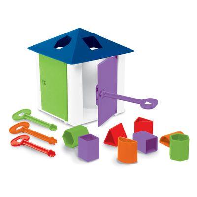 Casa das Chaves Brinquedo Educativo