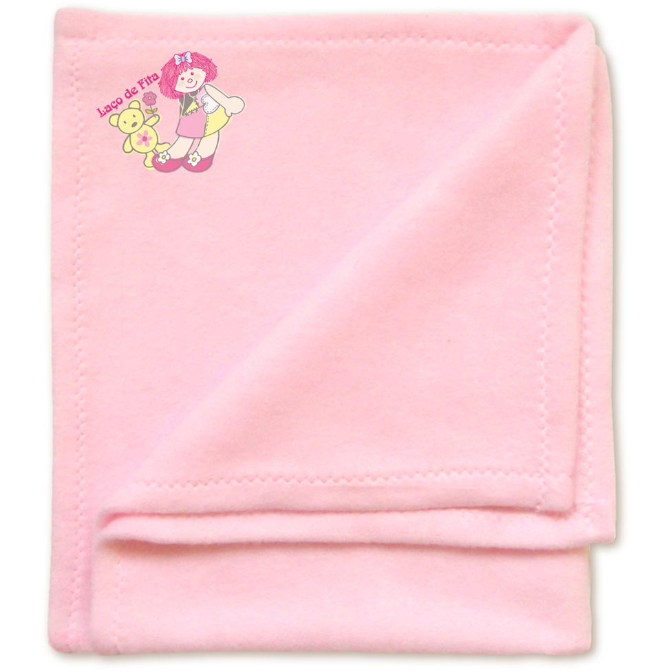 Cobertor para boneca Laço de Fitas