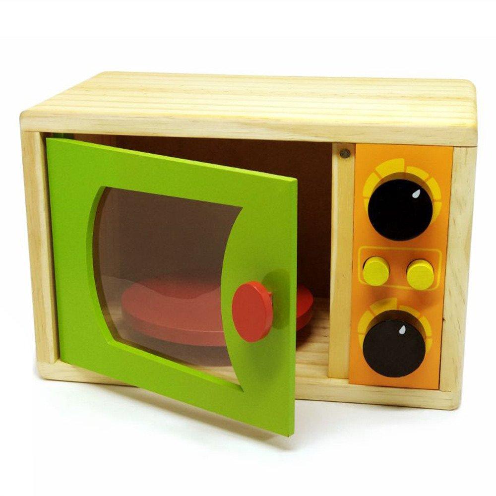 Coleção Comidinhas de madeira Microondas
