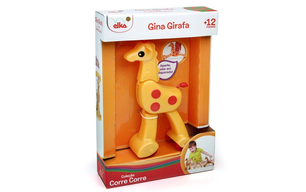 Coleção Corre-Corre Gina Girafa Elka