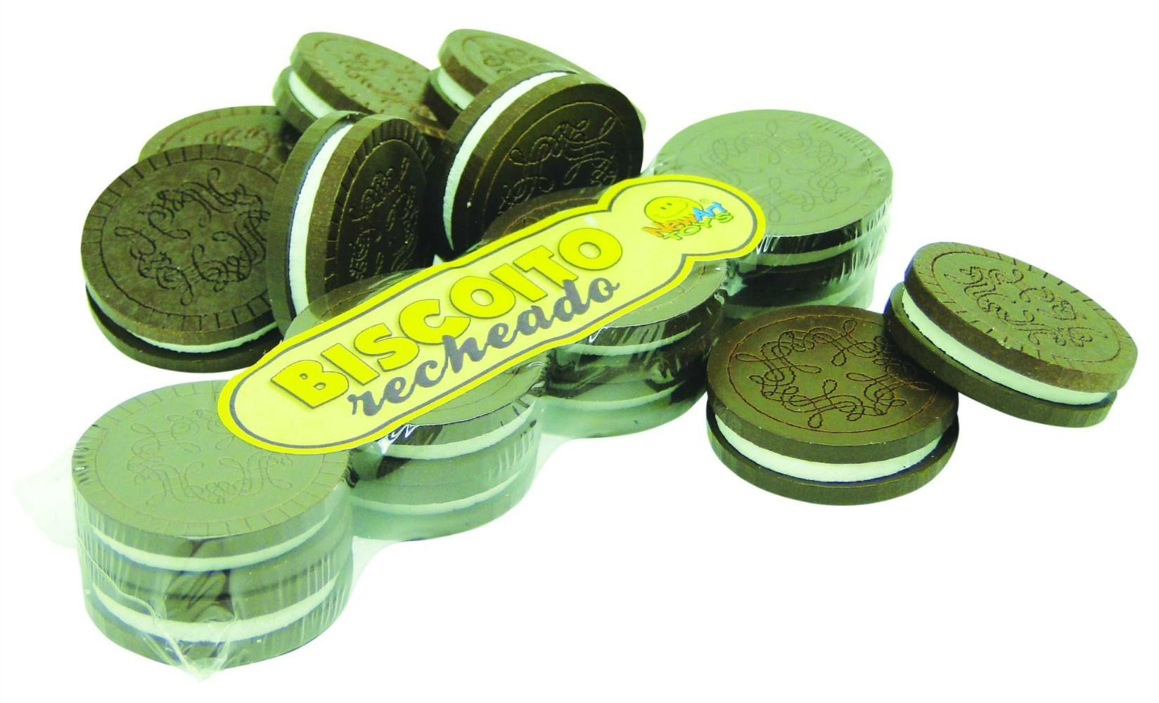 Comidinha de Madeira Coleção Comidinhas  Biscoito