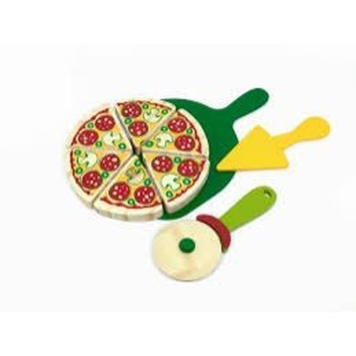 Comidinha de Madeira Coleção Comidinhas - Pizza