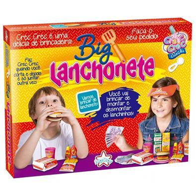Comidinhas de brinquedo Crec Crec Big Lanchonete Big Star