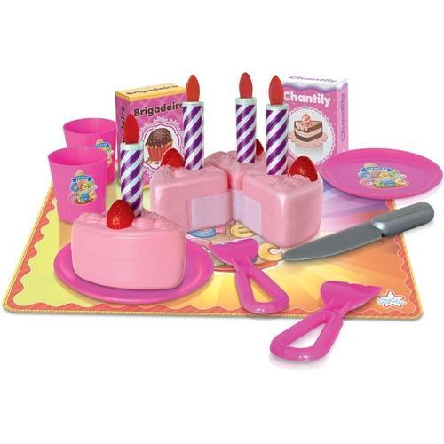 Comidinhas de Brinquedo Crec Crec Festa de Aniversário Big Star