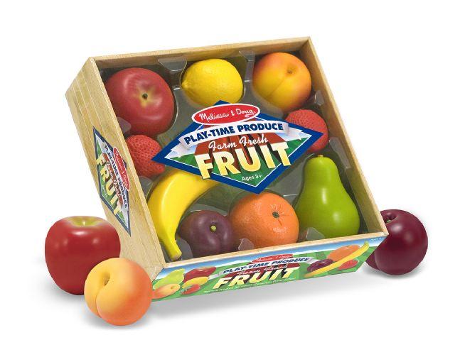 Comininhas de Madeira Conjunto de Frutas para Brincar de Casinha.