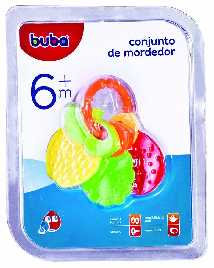 Conjunto de Mordedor Frutas Buba