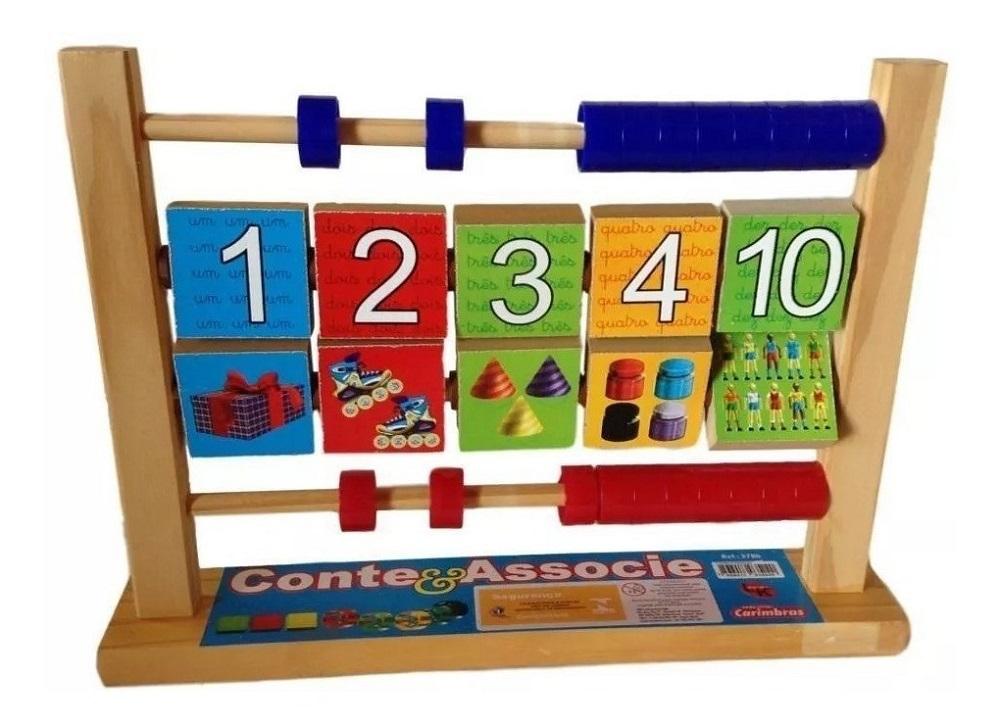 Conte & Associe Brinquedo Educativo de Madeira