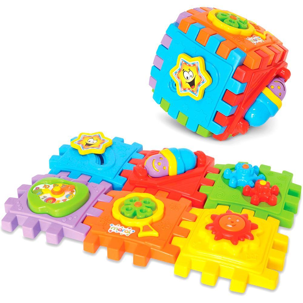 Cubo de Atividade de Montar Smart Cube Caixa