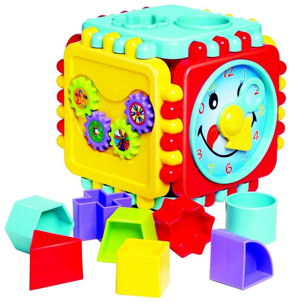 Cubo de Atividade Pedagógico de Montar Cubo Fantástico