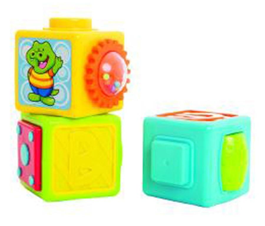 Cubos de Empilhar Pedagógicos