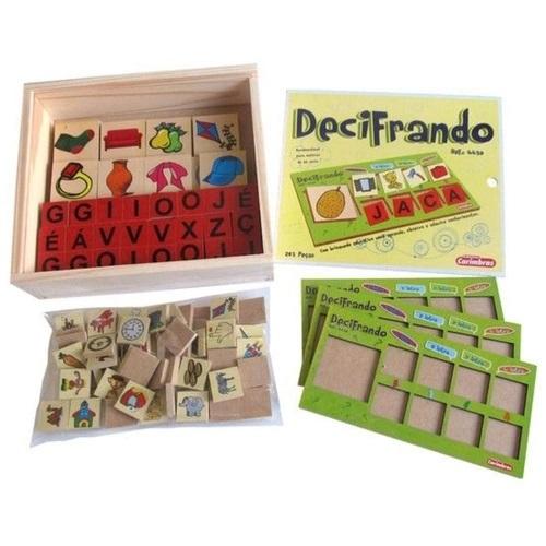 Decifrando Brinquedo Educativo de Madeira