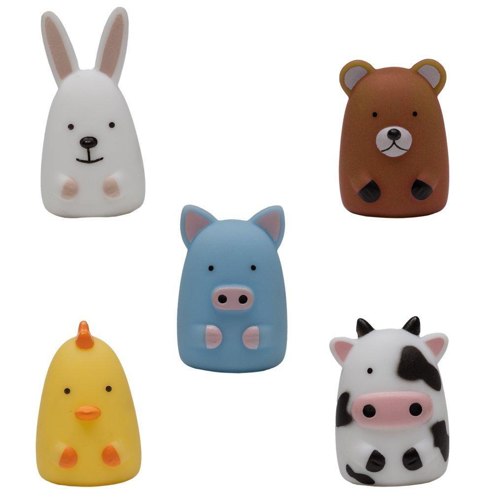 Dedoches Animaizinhos Brinquedos de Pelúcia