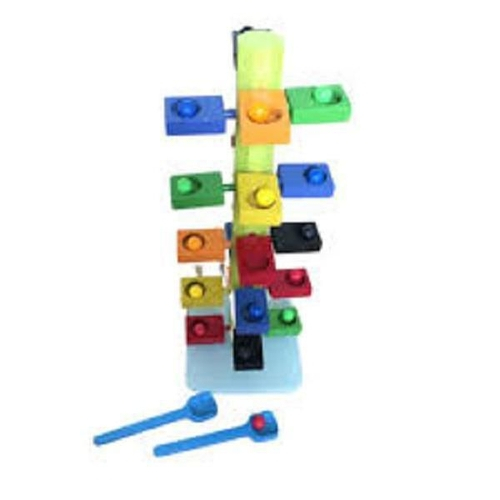 Desafio Funcional Brinquedo Educativo de Madeira