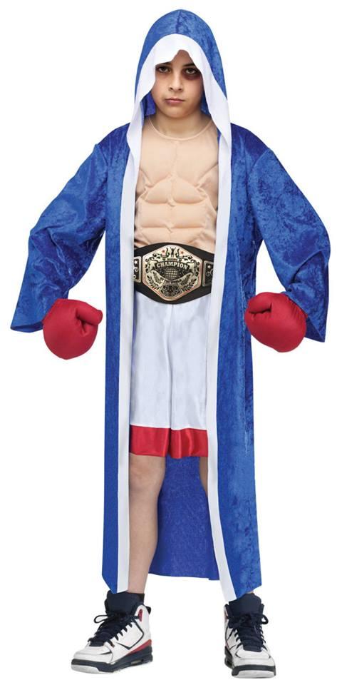 Fantasia Campeão de Luta Tamanho G