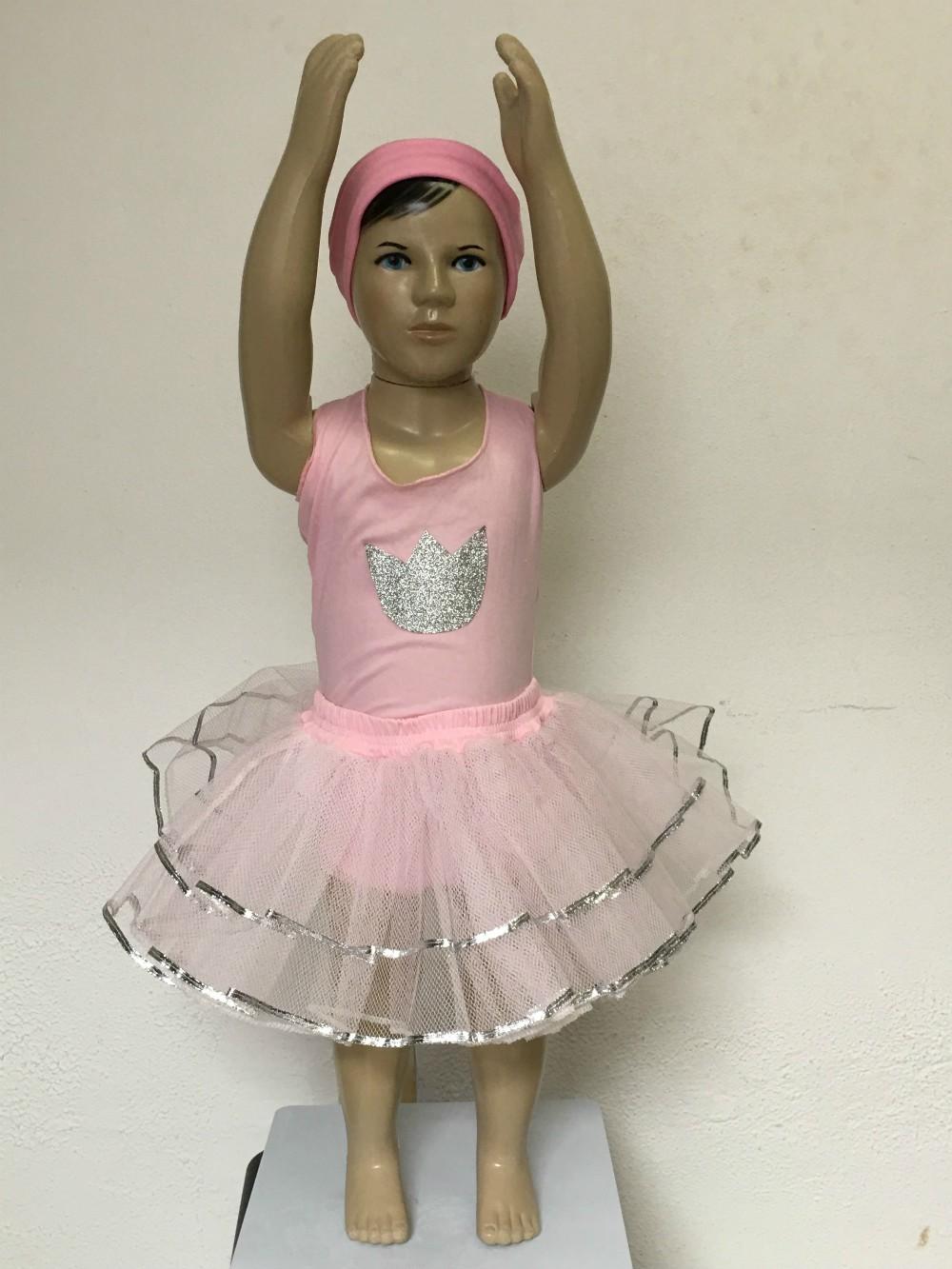 Fantasia Infantil - Bailarina Tamanho P