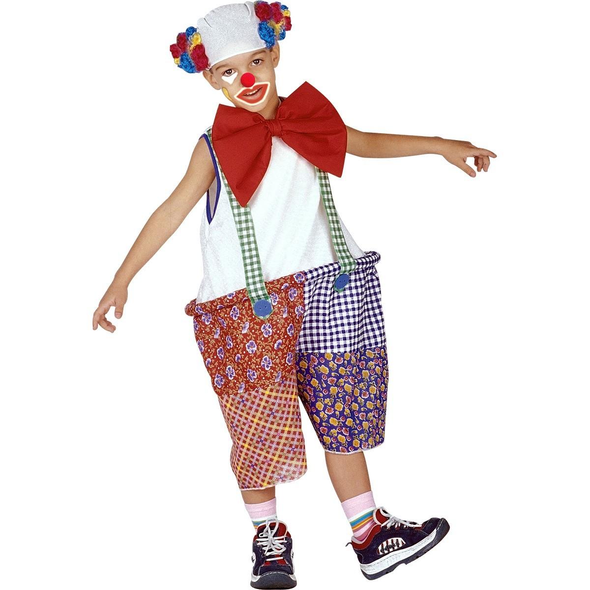 Fantasia Infantil Palhaço Circo Tamanho M