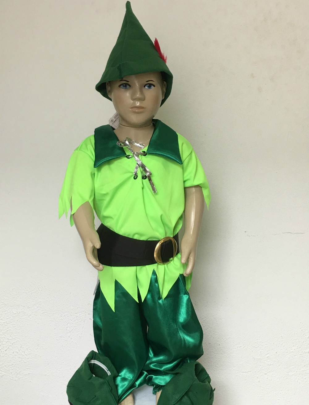 Fantasia Infantil Peter Pan Tamanho M