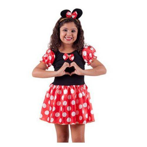Fantasia Minnie Clássica M