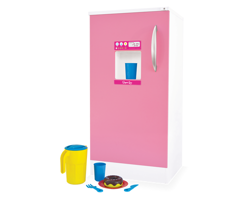 Geladeira de Madeira Super Lux para Casinha Infantil
