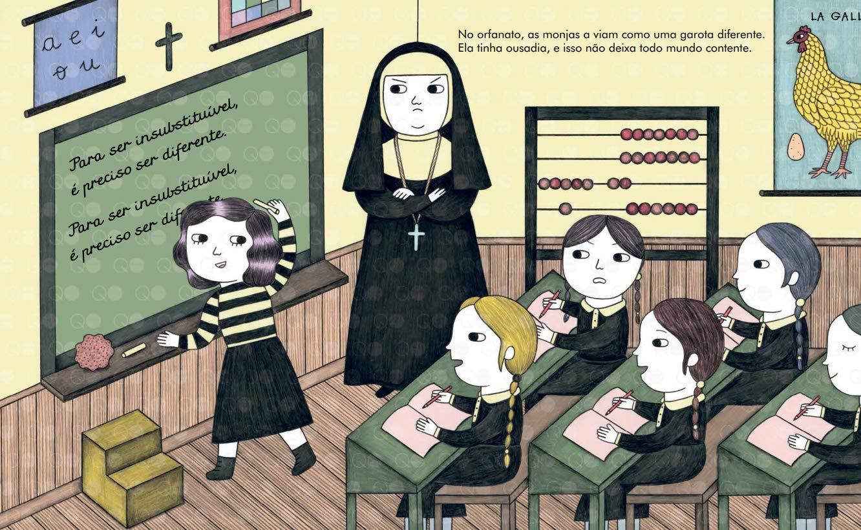 Gente pequena, grandes sonhos Coco Chanel Livro Educativo