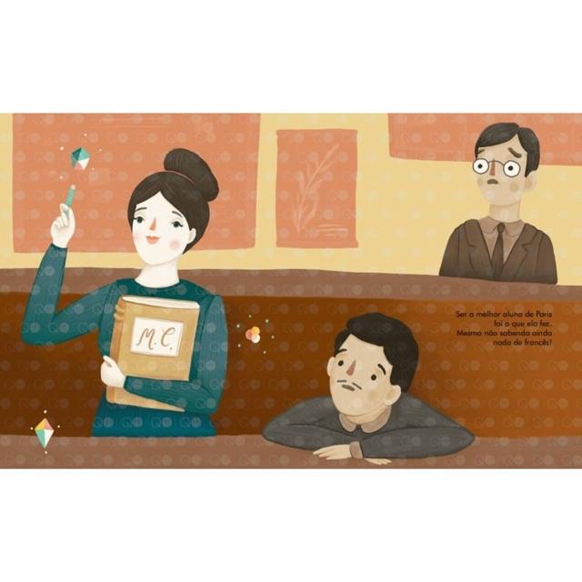 Gente pequena, grandes sonhos Marie Curie