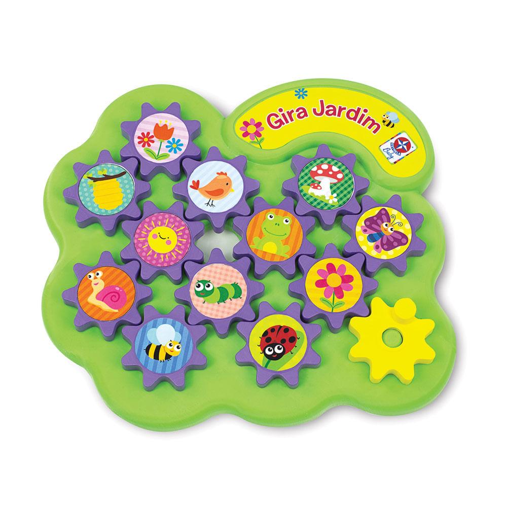 Gira Jardim Brinquedo Educativo