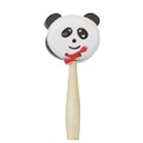 Instrumento Musical Castanhola Infantil Panda