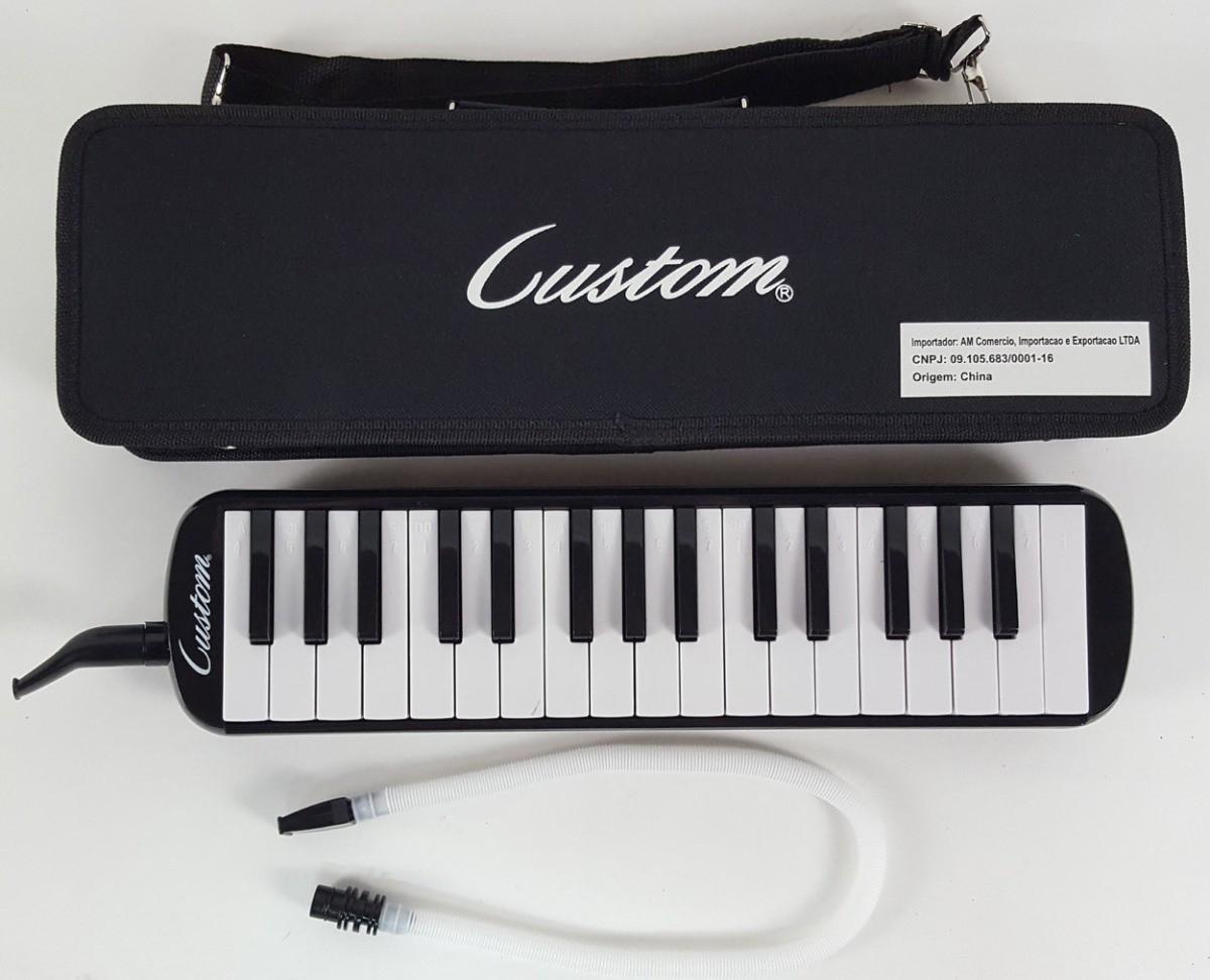 Instrumento Musical Infantil Escaleta Musical 32 Teclas com Estojo