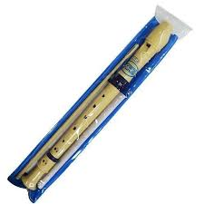 Instrumento Musical infantil Flauta Plástica Germânica Em Dó