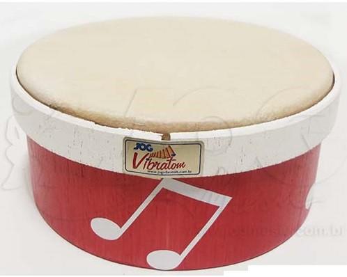 Instrumento Musical Infantil Surdinho Madeira 15 x 7 cm