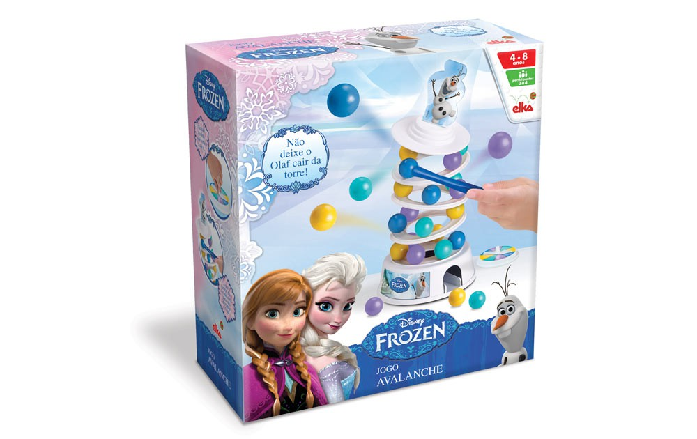Jogo Avalanche Frozen Elka