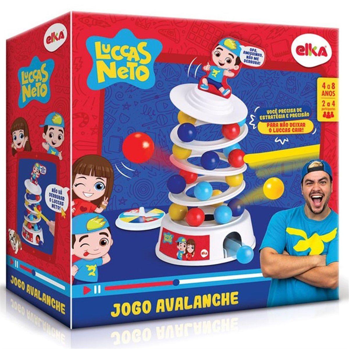 Jogo Avalanche Luccas Neto