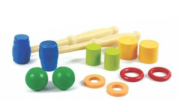 Jogo Corrida Divertida Brinquedo de Madeira