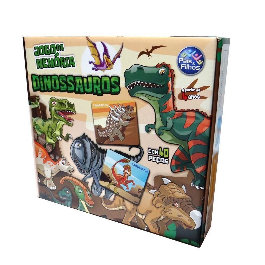 Jogo da Memória Dinossauros