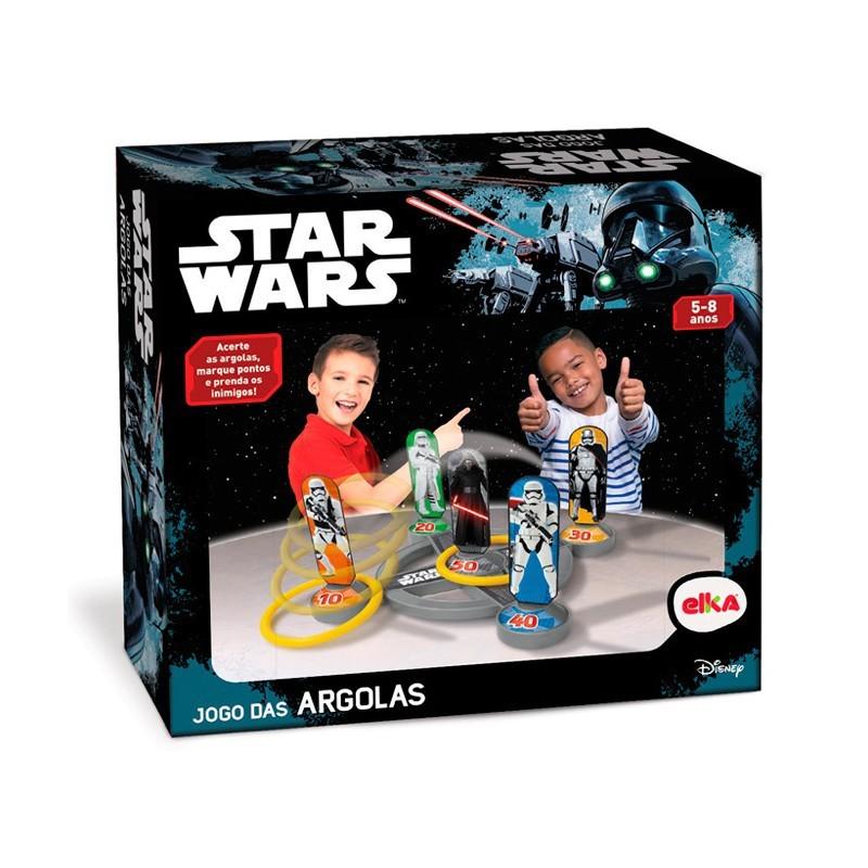 Jogo de Argolas Star Wars Elka