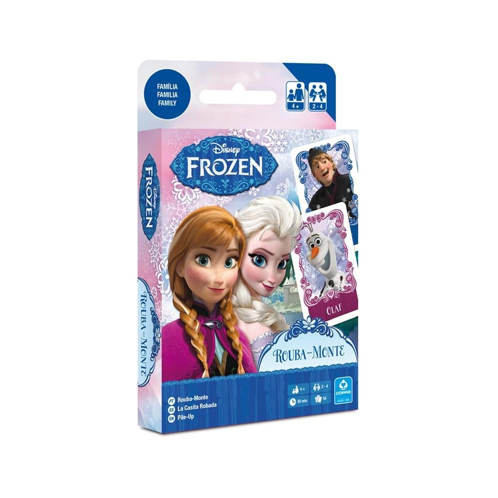 Jogo de cartas  Rouba Monte Frozen Copag