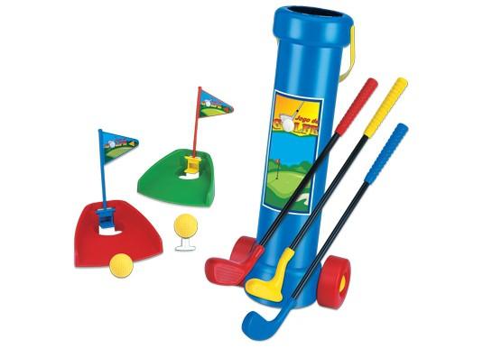 Jogo de Golfe com Carrinho Braskit