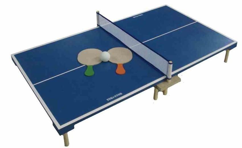 Jogo de Madeira de Ping Pong de Mesa