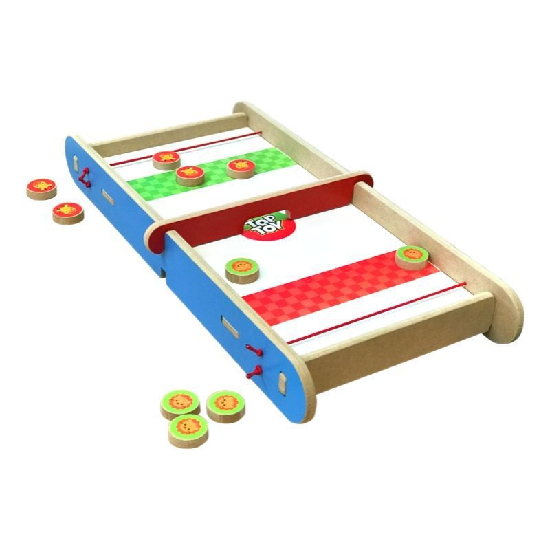 Jogo Desafio 2 em 1 Brinquedo Educativo de Madeira