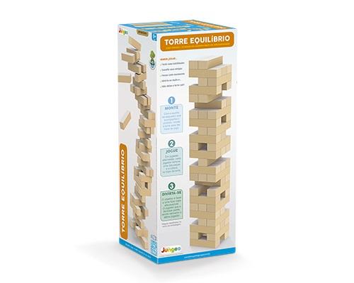 Jogo de Madeira Torre de Equilíbrio Jenga