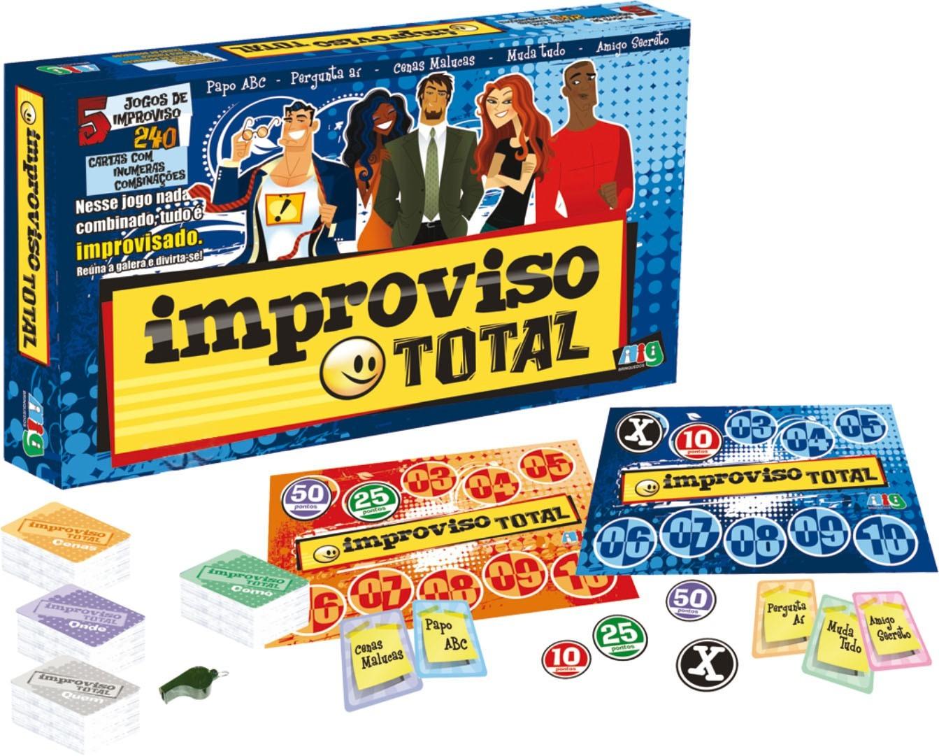 Jogo Improviso Total Nig
