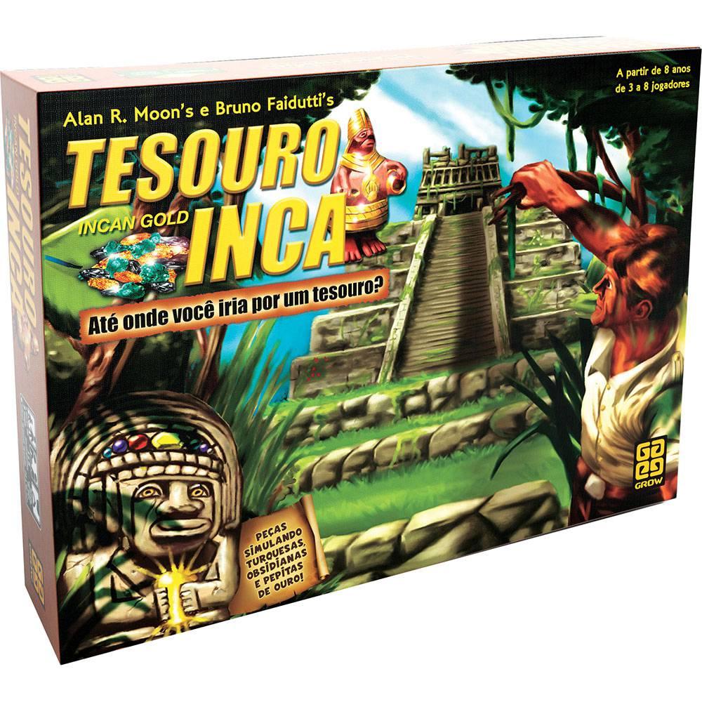 Jogo Tesouro Inca Grow